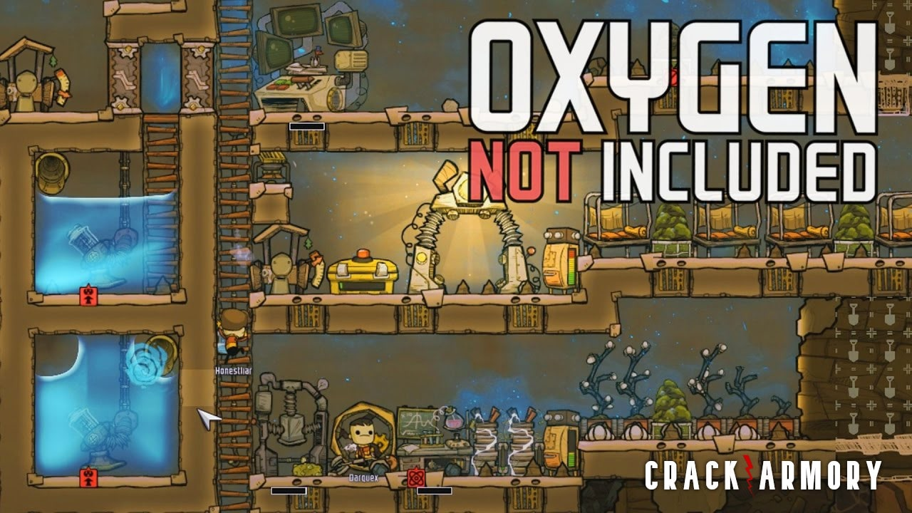 Oxygen Not Included gameplay with free crack and latest patch.